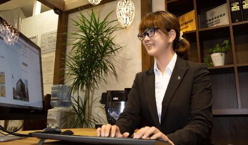 不動産事業(大分不動産情報サービス)|SAKAIの仕事|大分市の工務店 SAKAI リクルート新卒採用情報