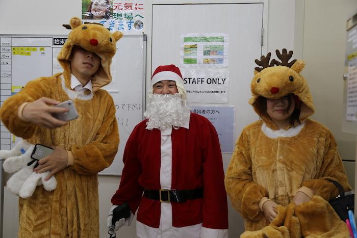 サンタクロースイベント