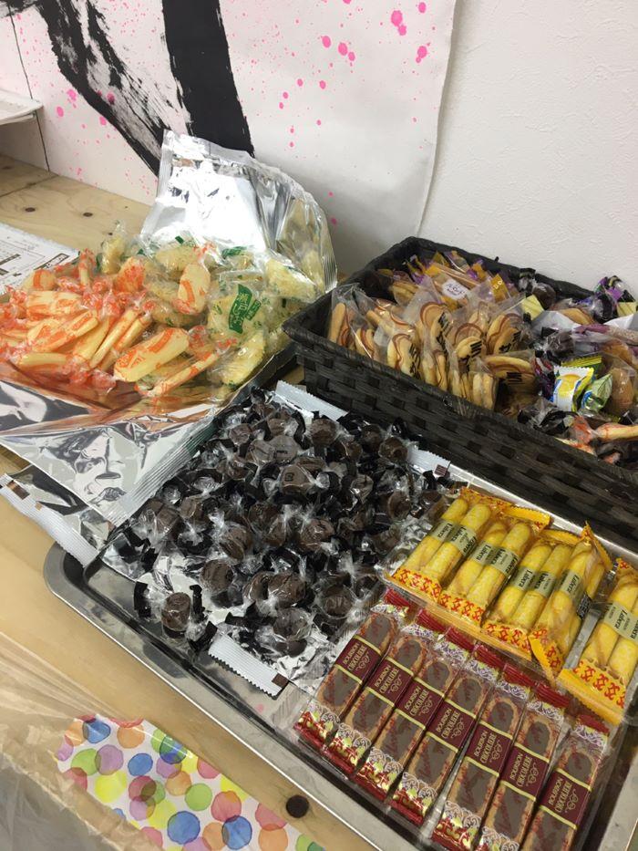社内MG研修 お菓子|大分の工務店坂井建設採用情報ブログ