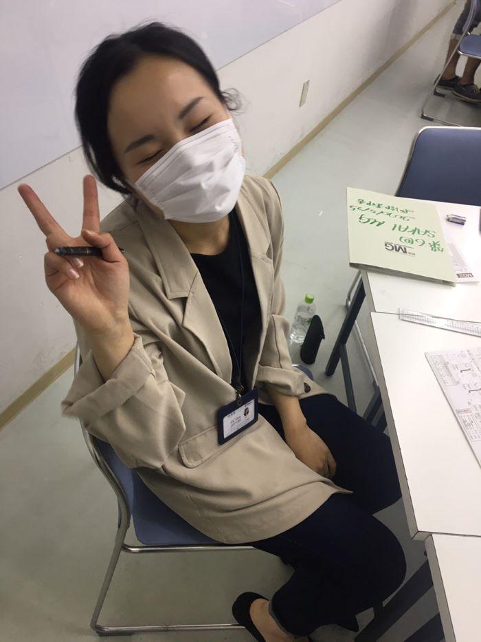 社内MG研修 同期阿部さん|大分の工務店坂井建設採用情報ブログ