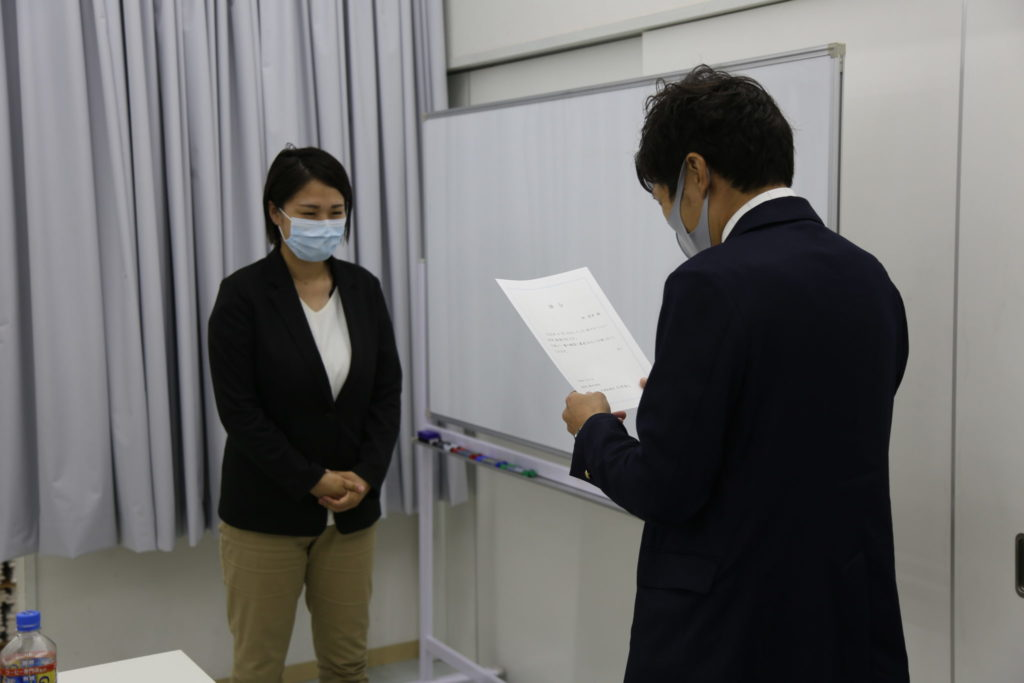 組織発表 辞令交付|大分の工務店 SAKAI株式会社採用情報ブログ
