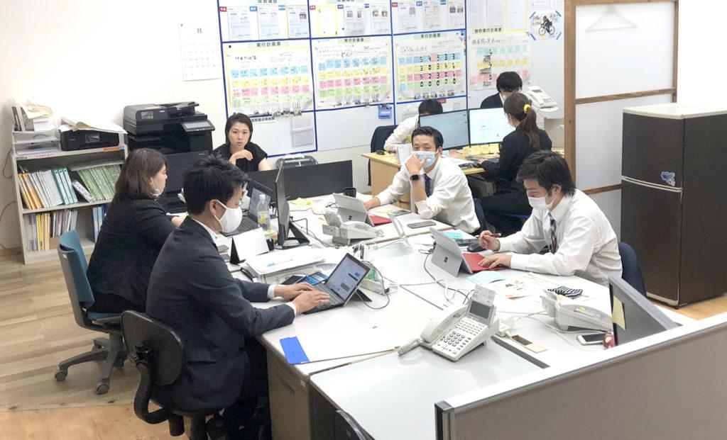 デスク引っ越し|大分の工務店 SAKAI株式会社採用情報ブログ