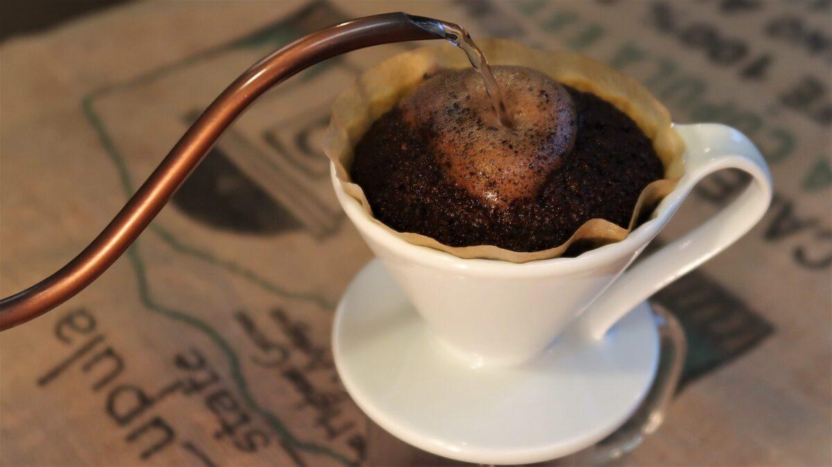 お家で美味しいコーヒーを淹れるコツが学べます。